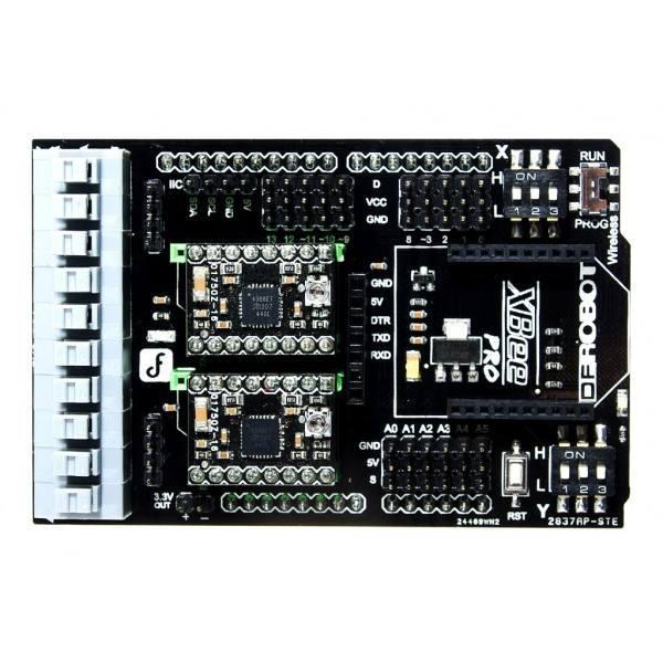 Motor Shield StepMotor - Arduino Stack Exchange